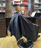 Пеньюар перукарський VSETEX   Накидка для клієнта салону краси, фото 2