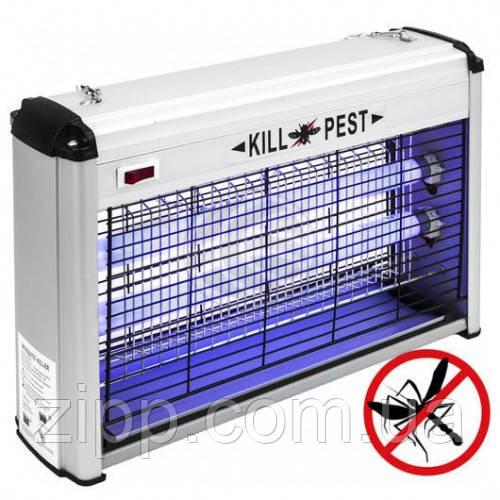 Електричний знищувач комах і комарів Pest Killer Lesko PK-16A пастка-відлякувач потужність 16 Вт