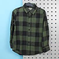 Детская рубашка в клетку тм GLO-STORY размер 120 см, фото 1