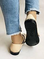 PSC. Удобные! Женские туфли -балетки из натуральной кожи.Турция. Размер 39 Супер комфорт.Vellena, фото 8