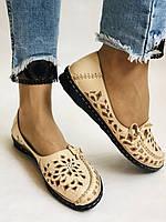 PSC. Удобные! Женские туфли -балетки из натуральной кожи.Турция. Размер 39 Супер комфорт.Vellena, фото 4