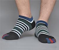 Носки с пальцами мужскиеVERIDICAL 40-44 Полосатые