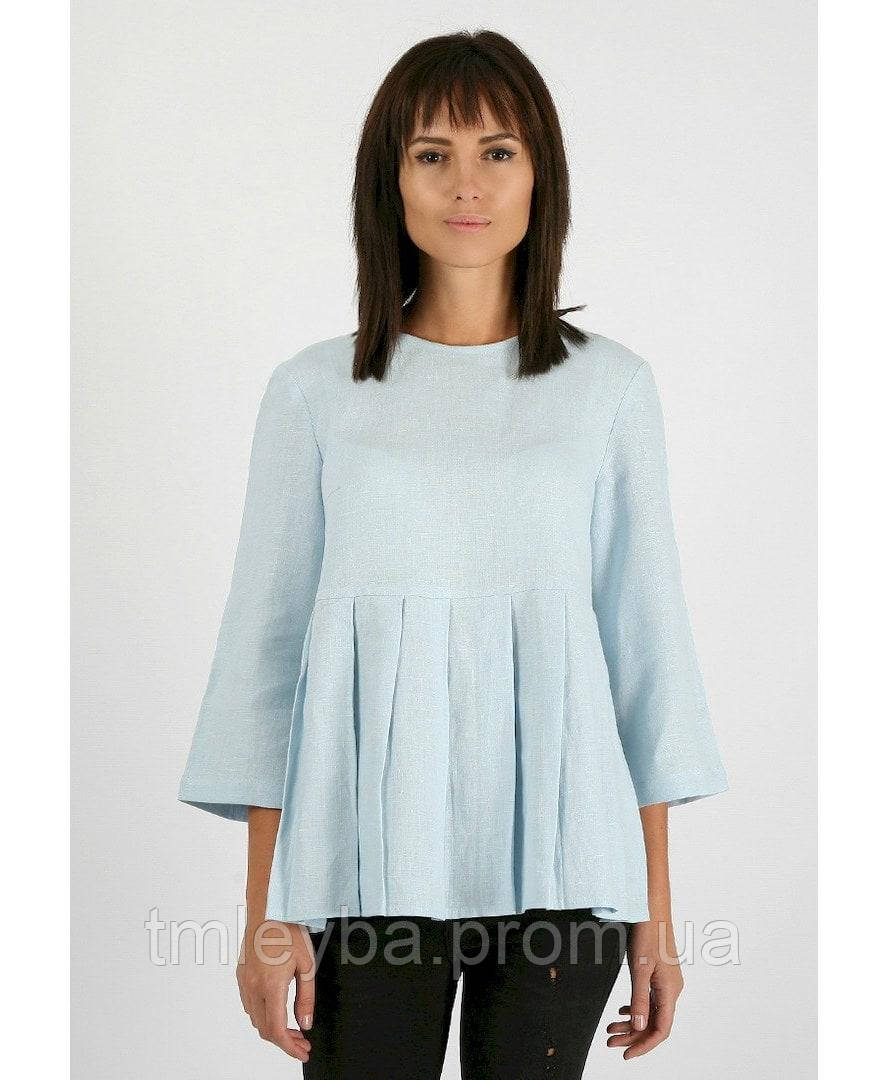 Блуза женская с кнопками на спинке