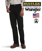 Джинсы мужские Rustler(Wrangler) / Прямые / Черные / 100% хлопок,14 унций / Оригинал из США