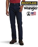 Джинсы мужские Rustler(Wrangler)/Темно-синие/Прямые100% хлопок,14 унций )/Оригинал из США