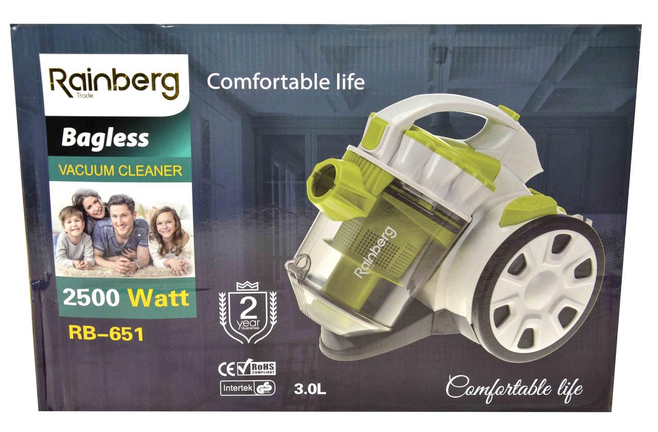 Пылесос Rainberg 651l контейнерный 2500w Пылесос мощный