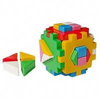"""Игрушка куб """"Умный малыш Логика 2 ТехноК"""""""