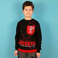 Детская кофта для мальчика Success черная тм Benini размер 116,134