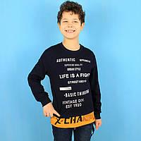 Детский свитшот для мальчика X-Change тм Benini размер 128,134