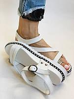Модные женские кожаные босоножки.Натуральная кожа. Турция.Размеры 36 37 38 39 40, фото 8