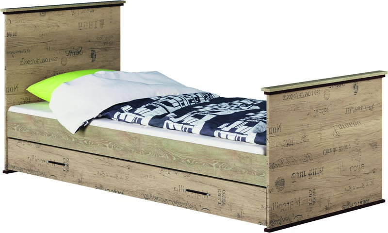 """Модульна система """"Палермо"""" Односпальне ліжко"""