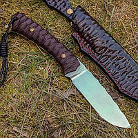 Нож ручной работы Red Fox (сталь N690), фото 1