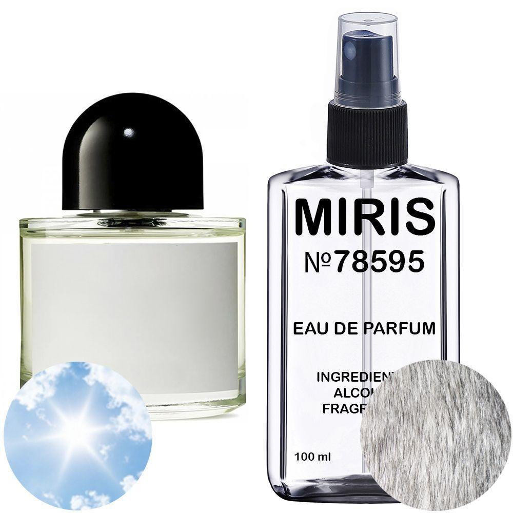 Духи MIRIS №78595 (аромат похож на Byredo Blanche) Унисекс 100 ml
