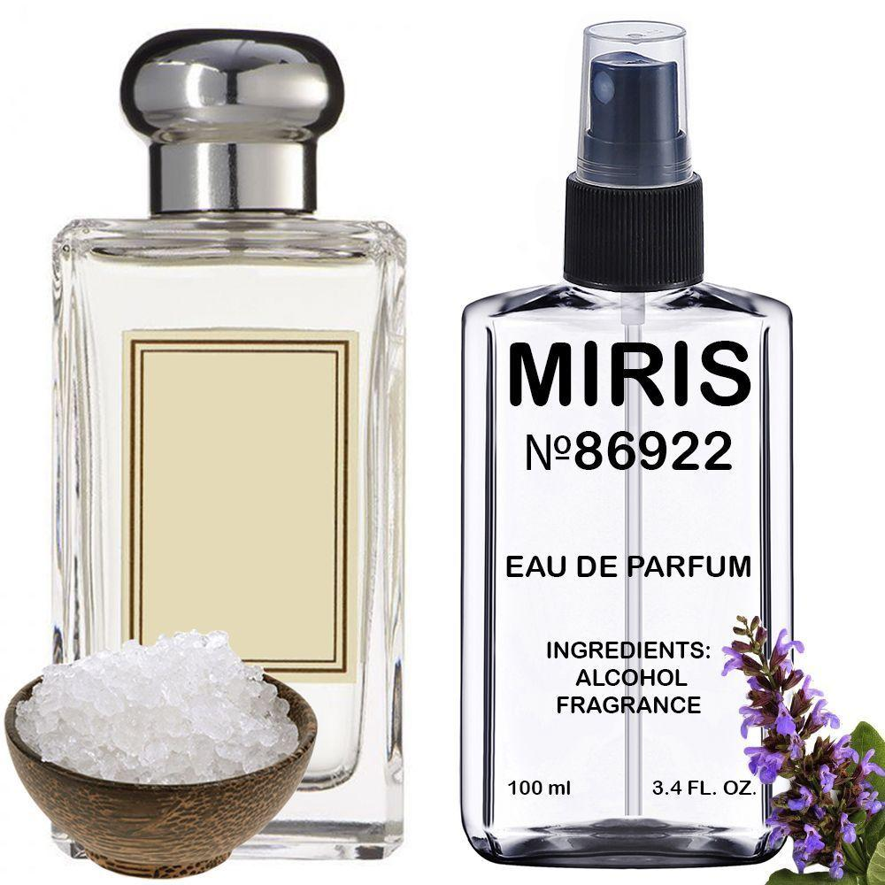 Духи MIRIS №86922 (аромат похож на Jo Malone Wood Sage & Sea Salt) Унисекс 100 ml