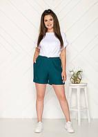 Стильные женские шорты большие размеры бутылка
