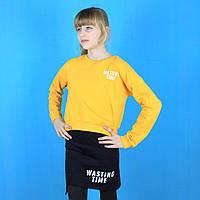 Детский костюм для девочки Wasting Time желтый тм Toontoy размер 10 лет