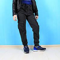 Джоггеры для мальчика с накладными карманами  тм Seagull размер 134,140,146,152,158