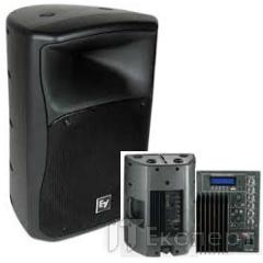 Колонка пластиковая BIG PP0112A+MP3