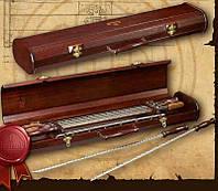 Шампура подарочные в деревянном футляре BST 58x15x33 см 090029