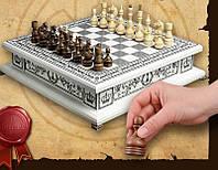 Шахматы BST 50x50x13 см деревянные белые 090033