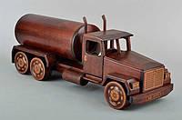 Мини бар грузовик BST 48x16x18 см деревянный 090046