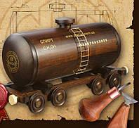 Мини бар цистерна BST 40x13x22 см деревянный 090049