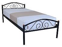Металева ліжко 90х200 POLO black ТМ EAGLE