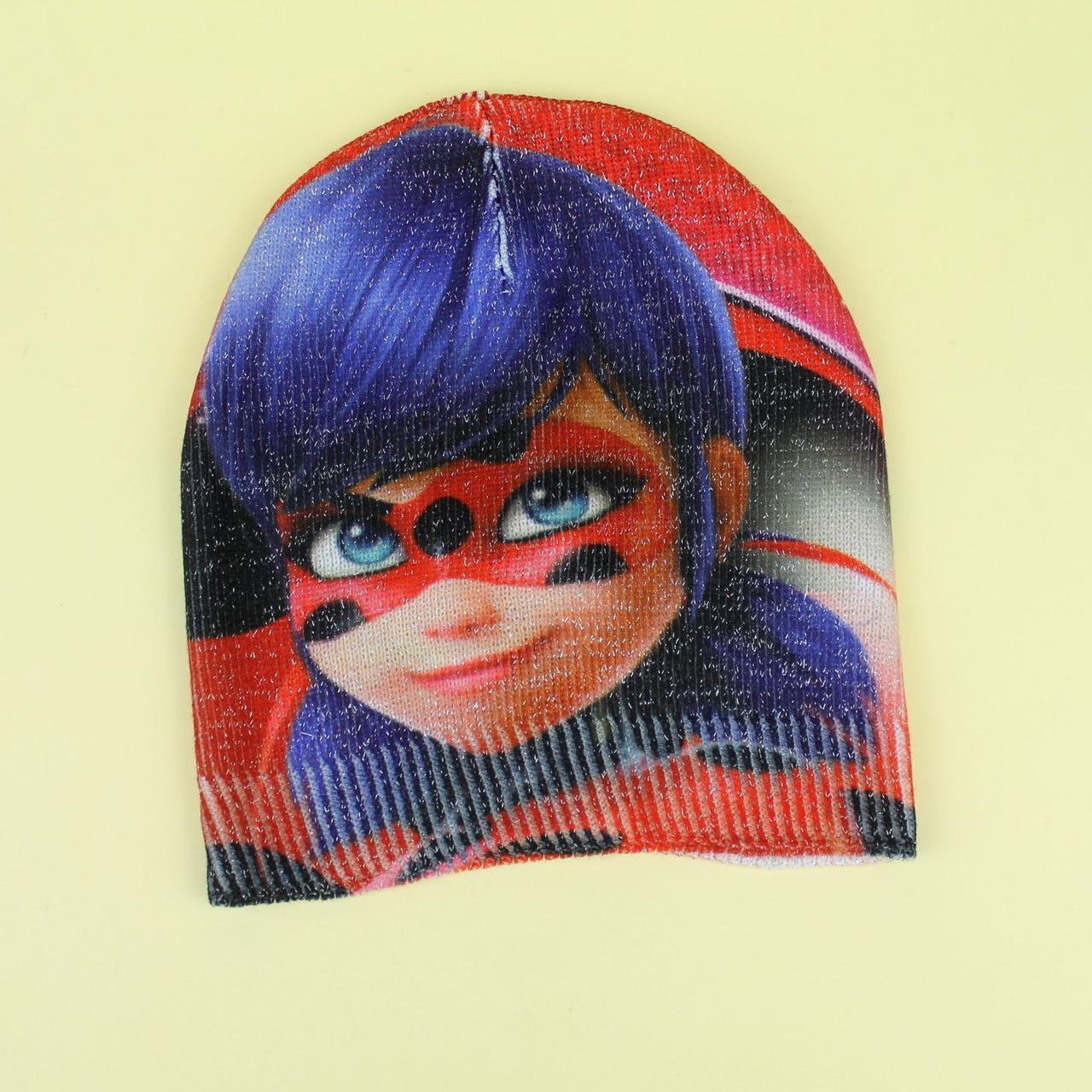 Демісезонна шапка для дівчинки Леді Баг люрекс тм Cerda розмір 50-52