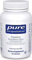 Pure Digestive Enzymes Ultra with Betaine HCl / Пищеварительные энзимы 90 капс