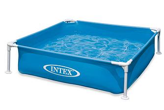 Детский каркасный бассейн Intex 57173 размеры 122х122х30 см