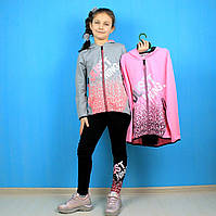 Детский костюм для девочки  кофта лосины Just Ning тм F&D размер 134-140,158-164 см, фото 1