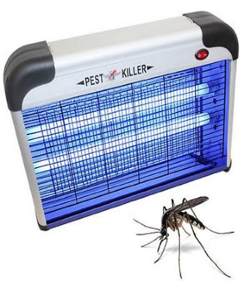 Электрический уничтожитель насекомых прибор для уничтожения комаров мух 26x8x24 см PEST KILLER BK-L12
