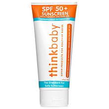 """Детский солнцезащитный крем Think """"Thinkbaby Sunscreen SPF 50+"""" водостойкий (177 мл)"""