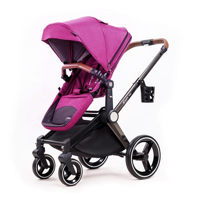 Универсальная коляска 2в1 Ninos Alba Purple