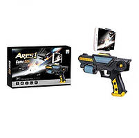 Пистолет   21см, работает от приложения, в кор-ке, 29-19-5,5см