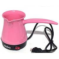 Турка електрическая Sinbo SCM-2928 Розовая