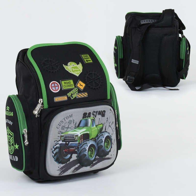 Рюкзак школьный 3D принт: 1 отделение, 3 кармана, спинка ортопедическая