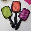 Расческа для волос Janeke Superbrush (Малиново-белая), фото 5