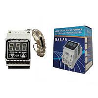 """Высокоточный цифровой терморегулятор """"DALAS""""  40А С клемами под прижимную пластину"""