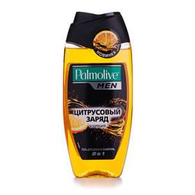 Гель для душа и шампунь 2 в 1 Палмолив Palmolive Men Цитрусовый заряд, бодрящий, для мужчин, 250 мл