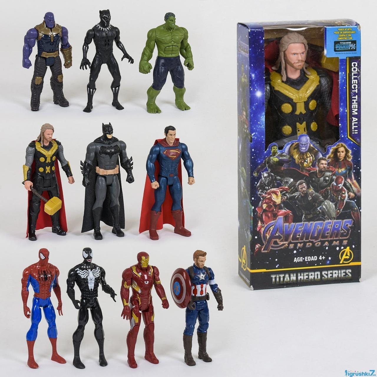 Супер Герои 1шт, в коробке