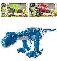 Динозавр музыкальный 40-17-15 см, звук, свет, танцует на батарейке, в коробке, 43-15-17,5 см