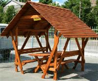 Беседки деревянные АРМАДА