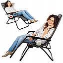 Шезлонг, кресло пляжное Zero Gravity, фото 4