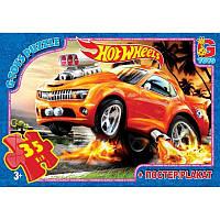 """Пазлы ТМ """"G-Toys"""" из серии """"Hot Wheels"""", 35 эл."""