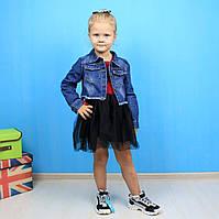 Костюм платье и джинсовый жакет  GLO-STORY размер 140,150,160