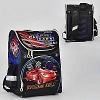 Рюкзак школьный каркасный Машина
