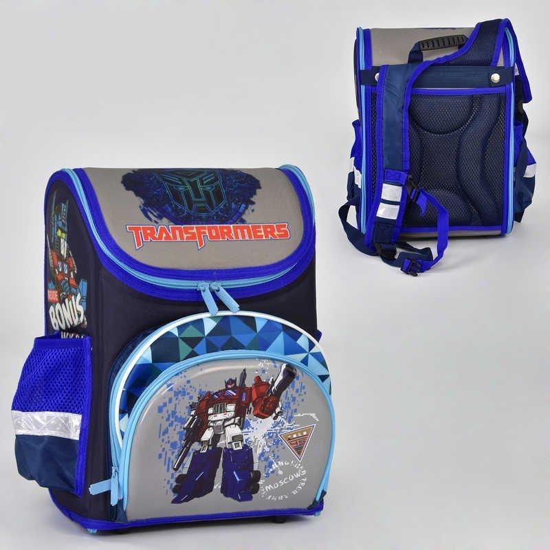 Рюкзак в школу каркасный Трансформеры