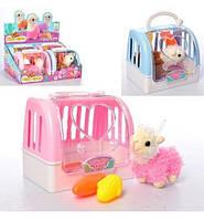 Игрушка Животное лама 11см (ткань), овощи2шт, в чемодане17-15см,4шт(4цв) в дисплее, 37-17-26см