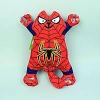 Мягкая игрушка Кот Человек Паук Мягкая игрушка на присосках 31 см